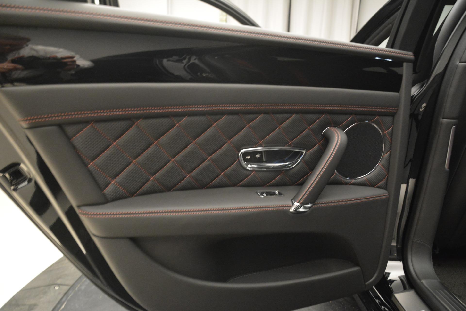 New 2018 Bentley Flying Spur V8 S Black Edition For Sale In Westport, CT 2073_p18