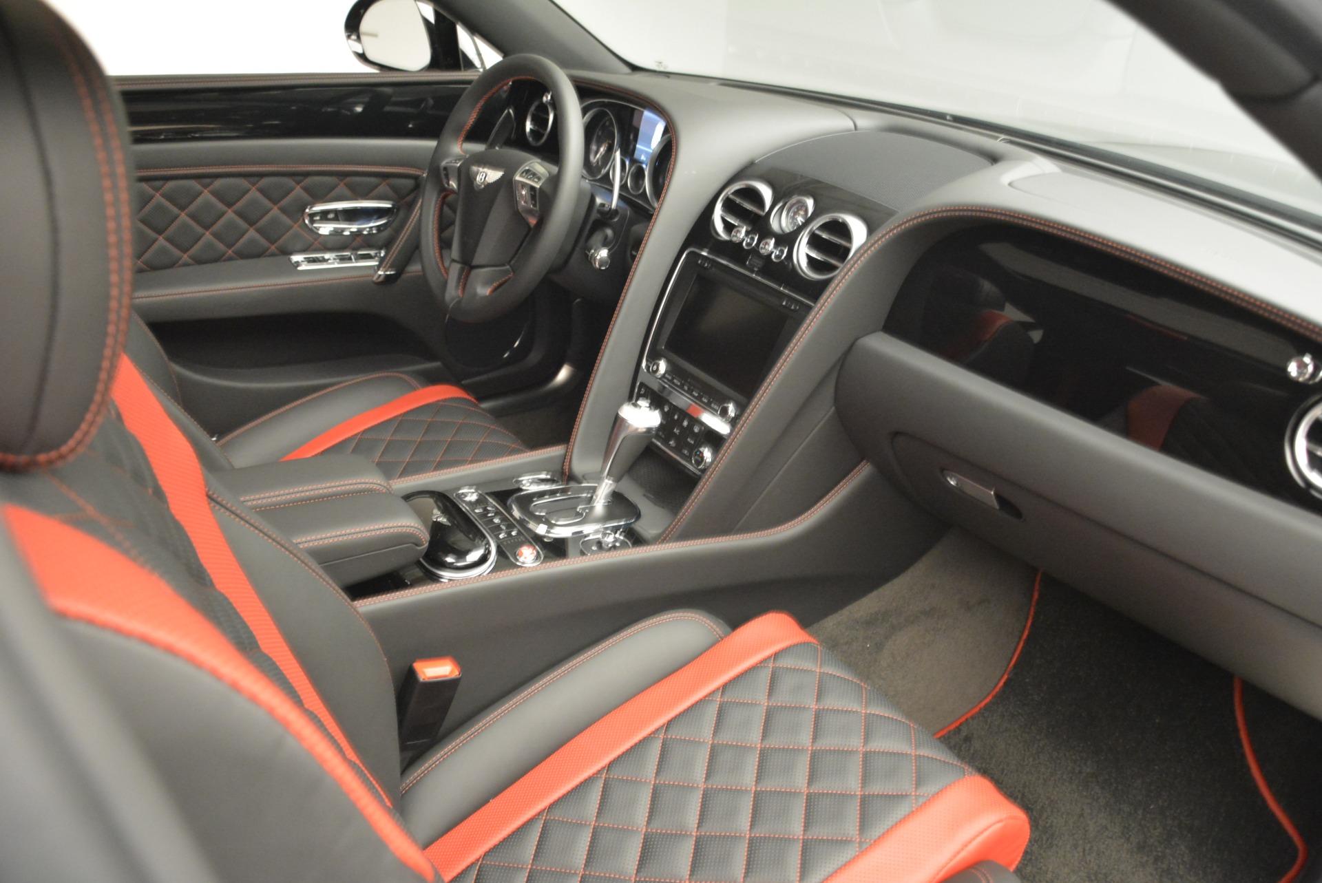 New 2018 Bentley Flying Spur V8 S Black Edition For Sale In Westport, CT 2073_p20