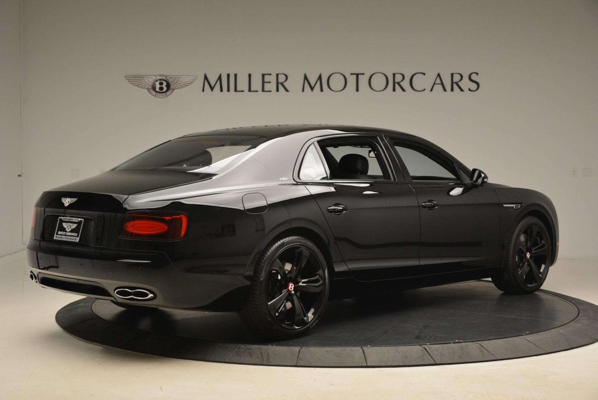 New 2018 Bentley Flying Spur V8 S Black Edition For Sale In Westport, CT 2073_p8