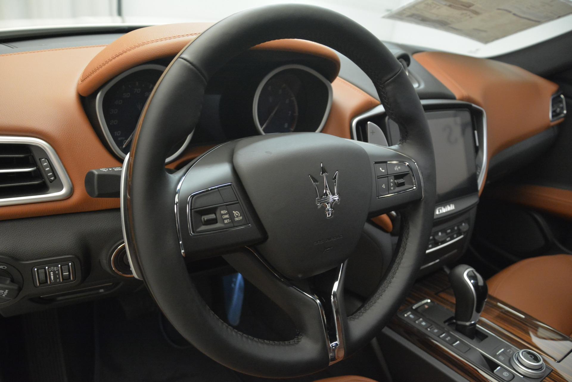 New 2018 Maserati Ghibli S Q4 For Sale In Westport, CT 2074_p16