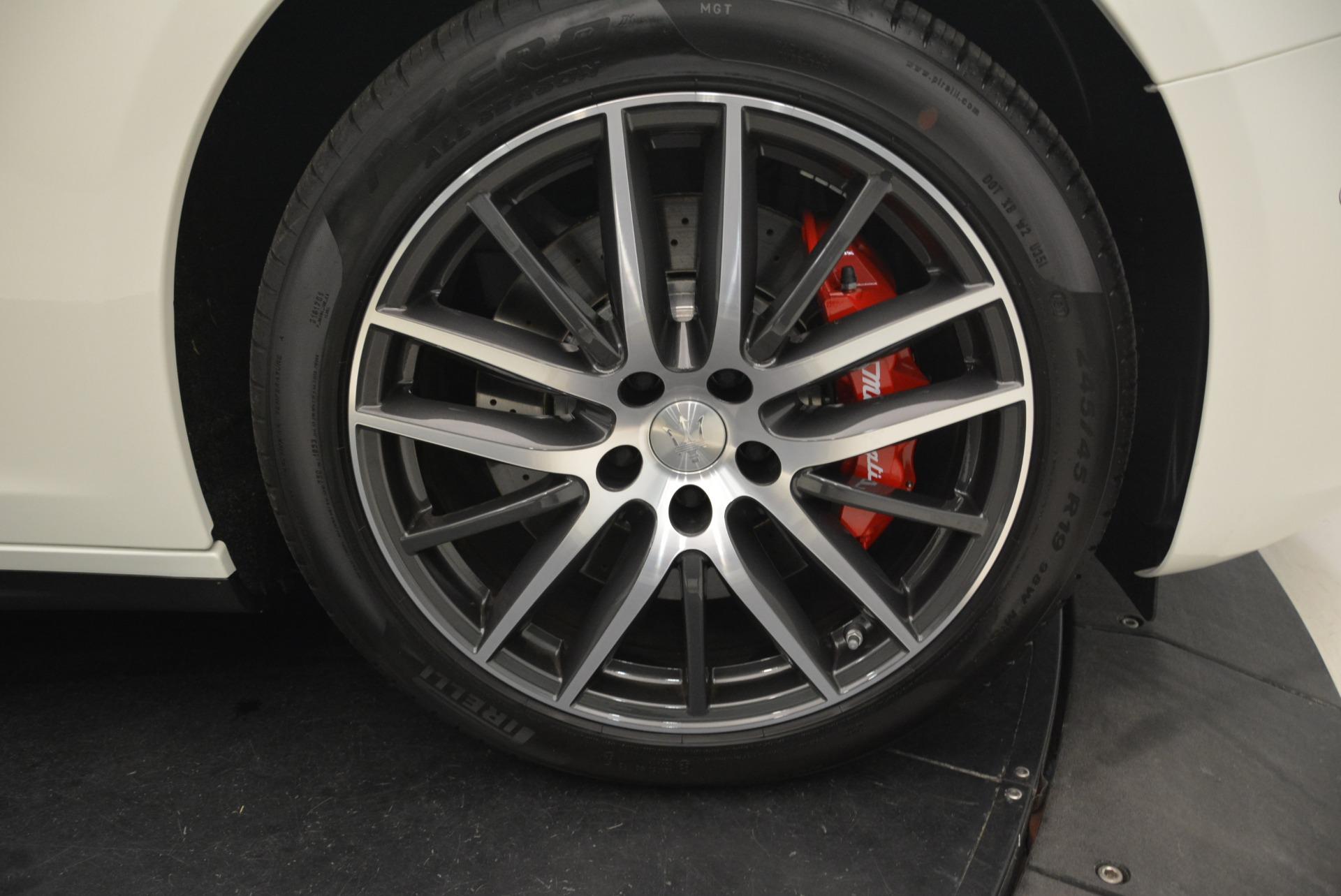 New 2018 Maserati Ghibli S Q4 For Sale In Westport, CT 2074_p28