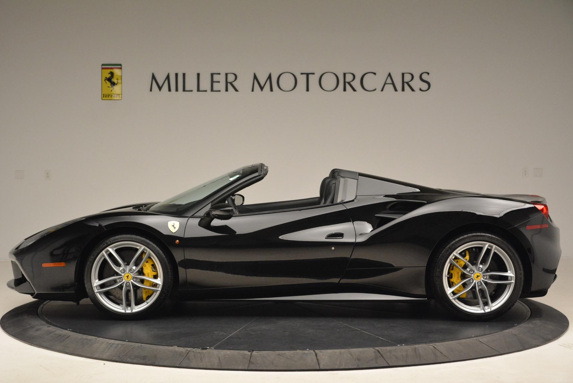 Used 2016 Ferrari 488 Spider  For Sale In Westport, CT 2078_p3