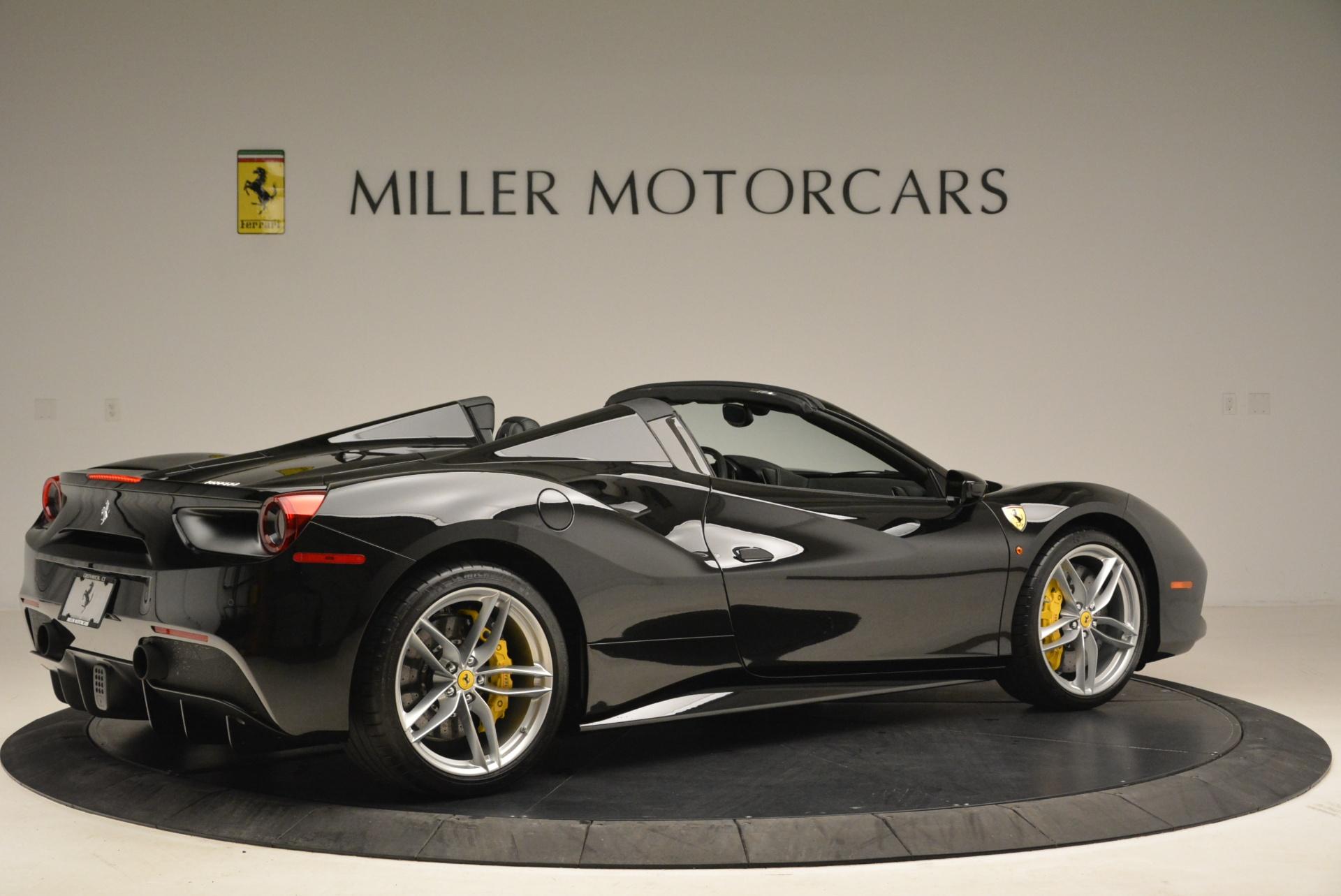 Used 2016 Ferrari 488 Spider  For Sale In Westport, CT 2078_p8