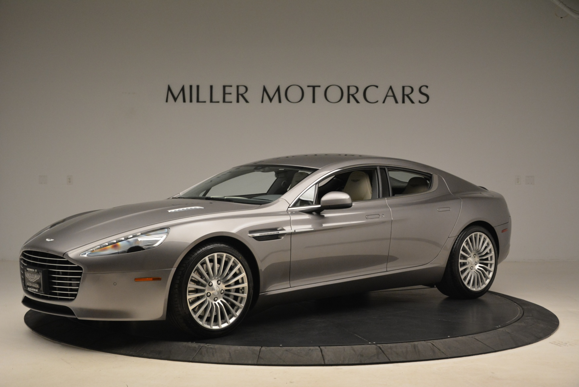 Used 2014 Aston Martin Rapide S  For Sale In Westport, CT 2079_p2