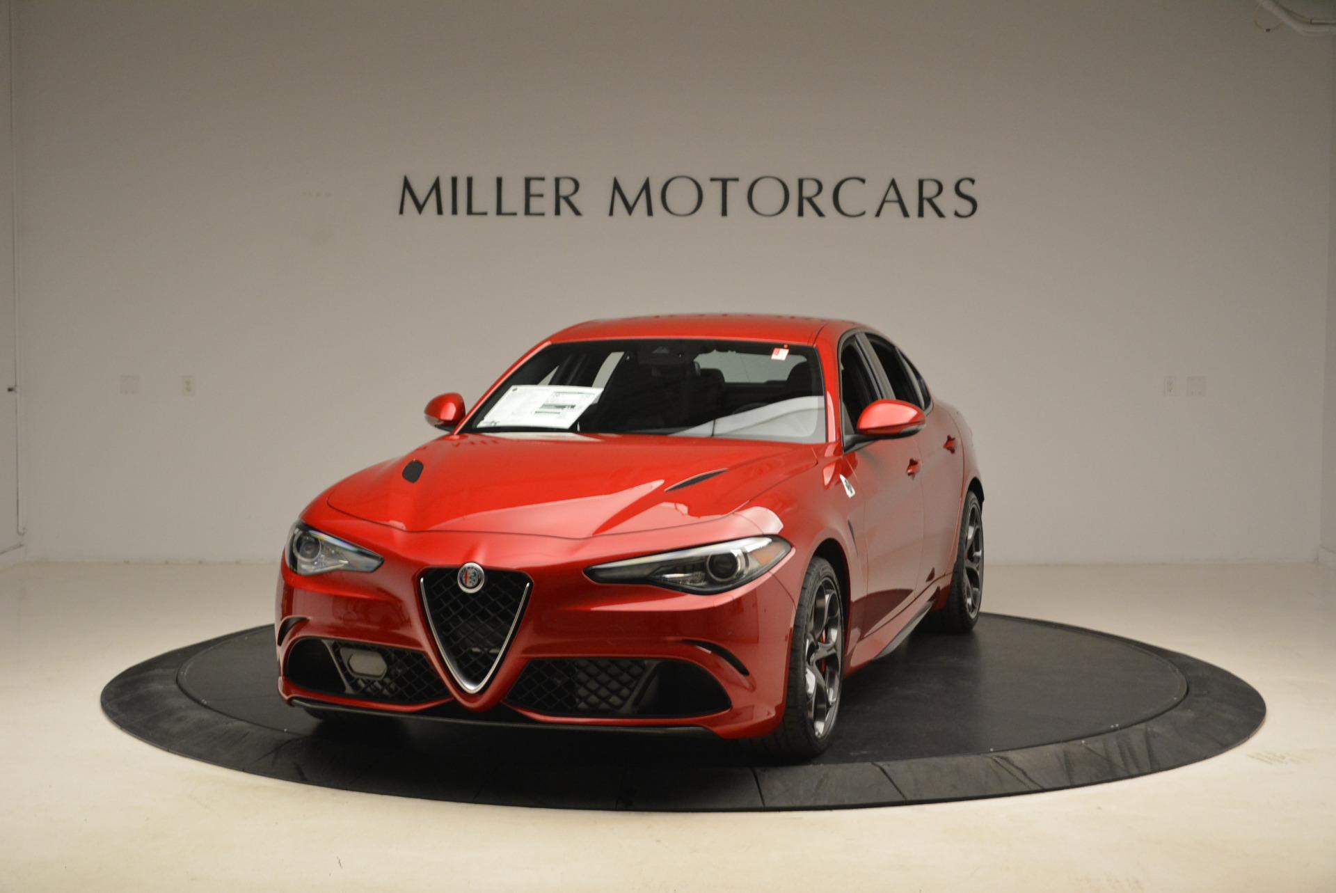 New 2018 Alfa Romeo Giulia Quadrifoglio For Sale In Westport, CT 2081_main
