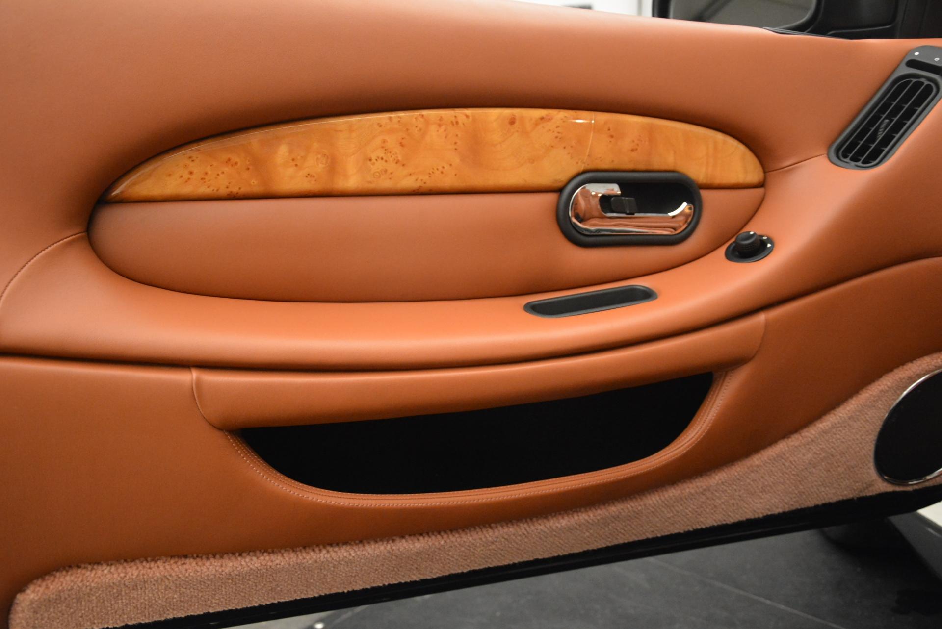 Used 2003 Aston Martin DB7 Vantage Volante For Sale In Westport, CT 2084_p25