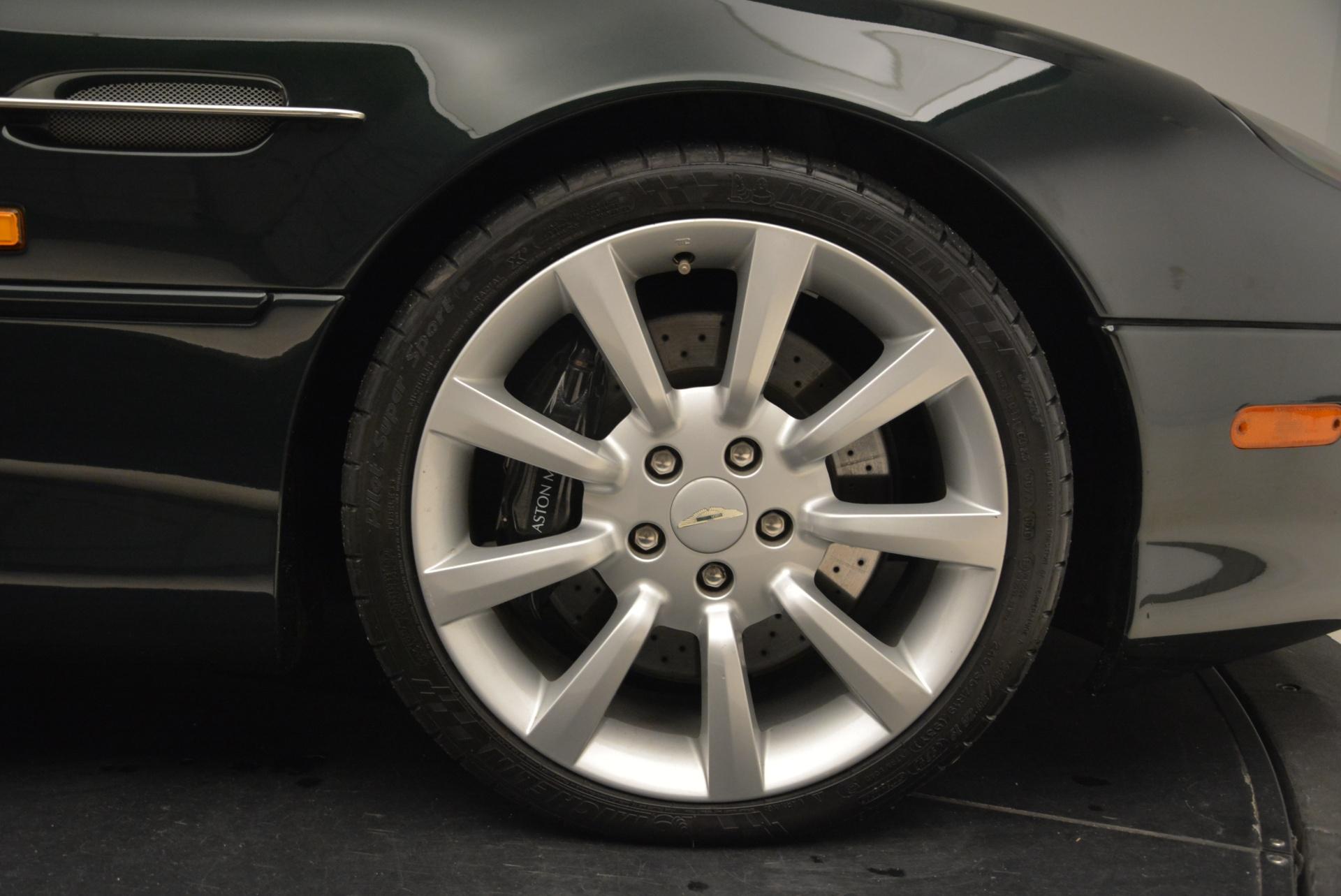 Used 2003 Aston Martin DB7 Vantage Volante For Sale In Westport, CT 2084_p32