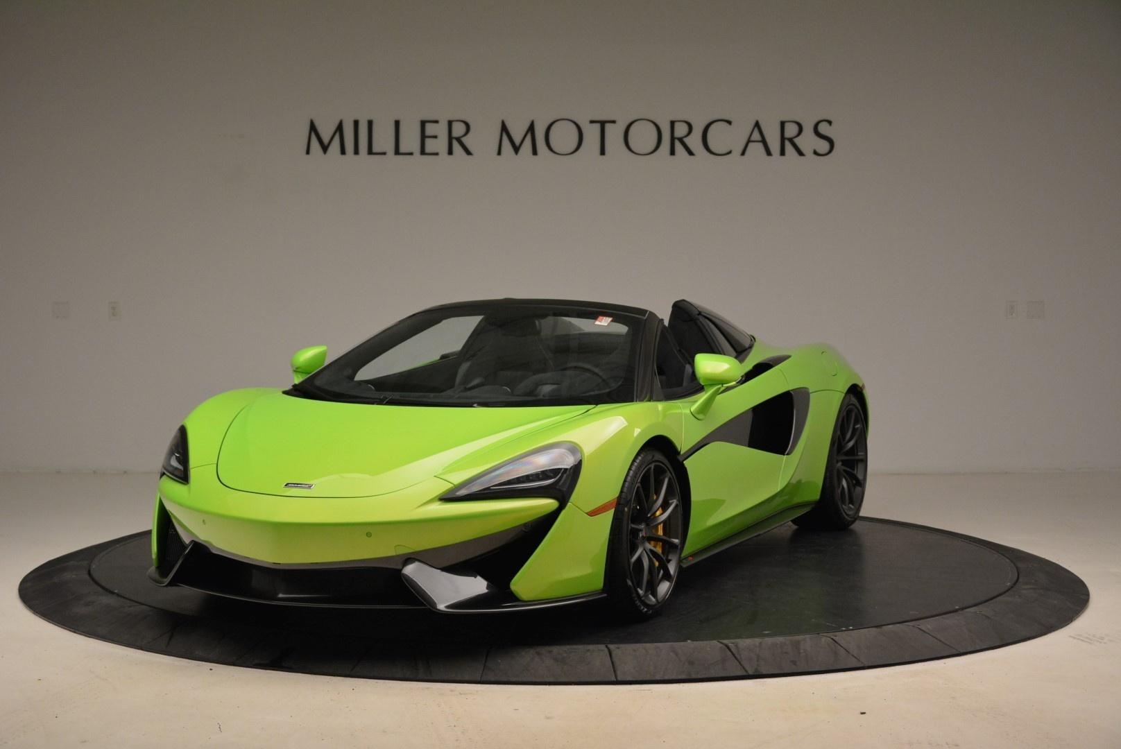 New 2018 McLaren 570S Spider For Sale In Westport, CT 2087_main