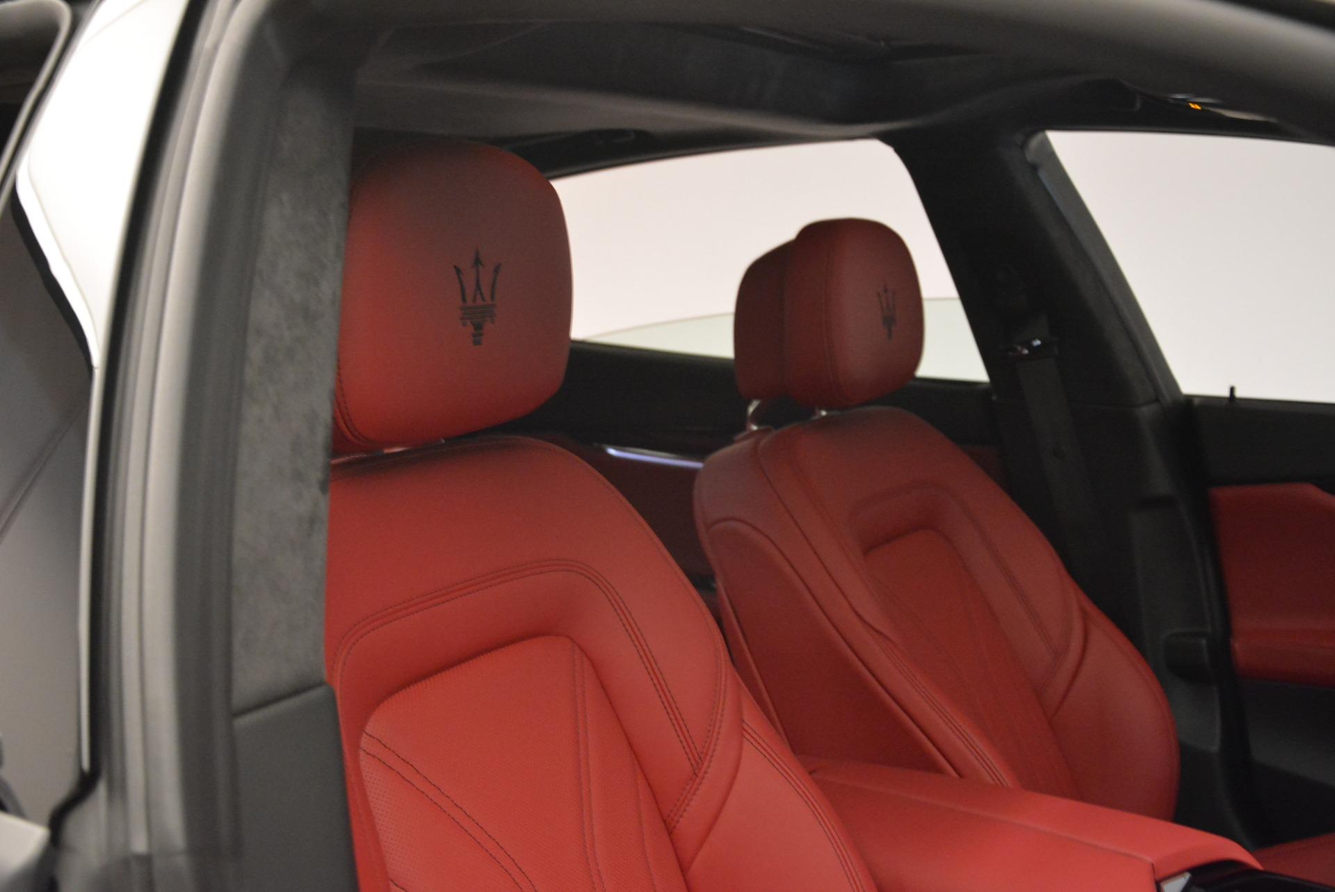 New 2018 Maserati Quattroporte S Q4 GranLusso For Sale In Westport, CT 2088_p25