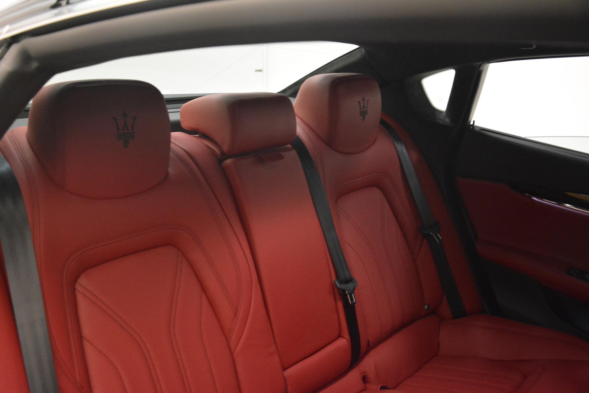 New 2018 Maserati Quattroporte S Q4 GranLusso For Sale In Westport, CT 2088_p29