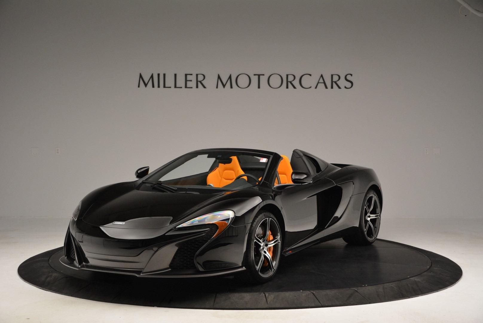 Used 2015 McLaren 650S Spider For Sale In Westport, CT 2089_main