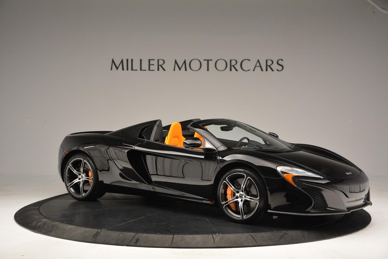 Used 2015 McLaren 650S Spider For Sale In Westport, CT 2089_p10