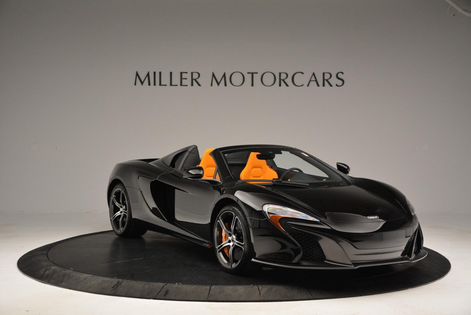 Used 2015 McLaren 650S Spider For Sale In Westport, CT 2089_p11