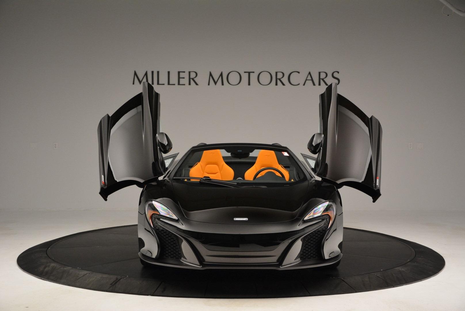Used 2015 McLaren 650S Spider For Sale In Westport, CT 2089_p13