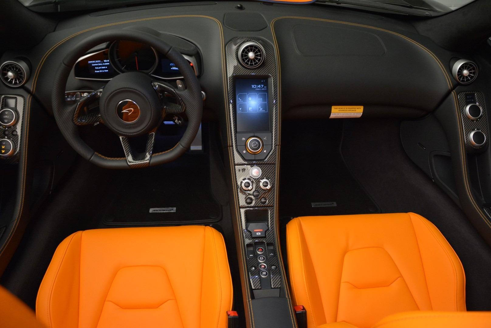 Used 2015 McLaren 650S Spider For Sale In Westport, CT 2089_p22