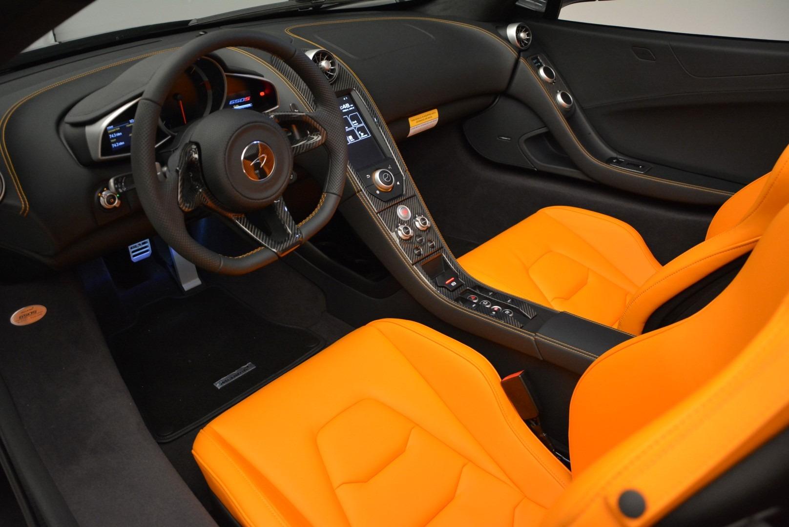 Used 2015 McLaren 650S Spider For Sale In Westport, CT 2089_p23