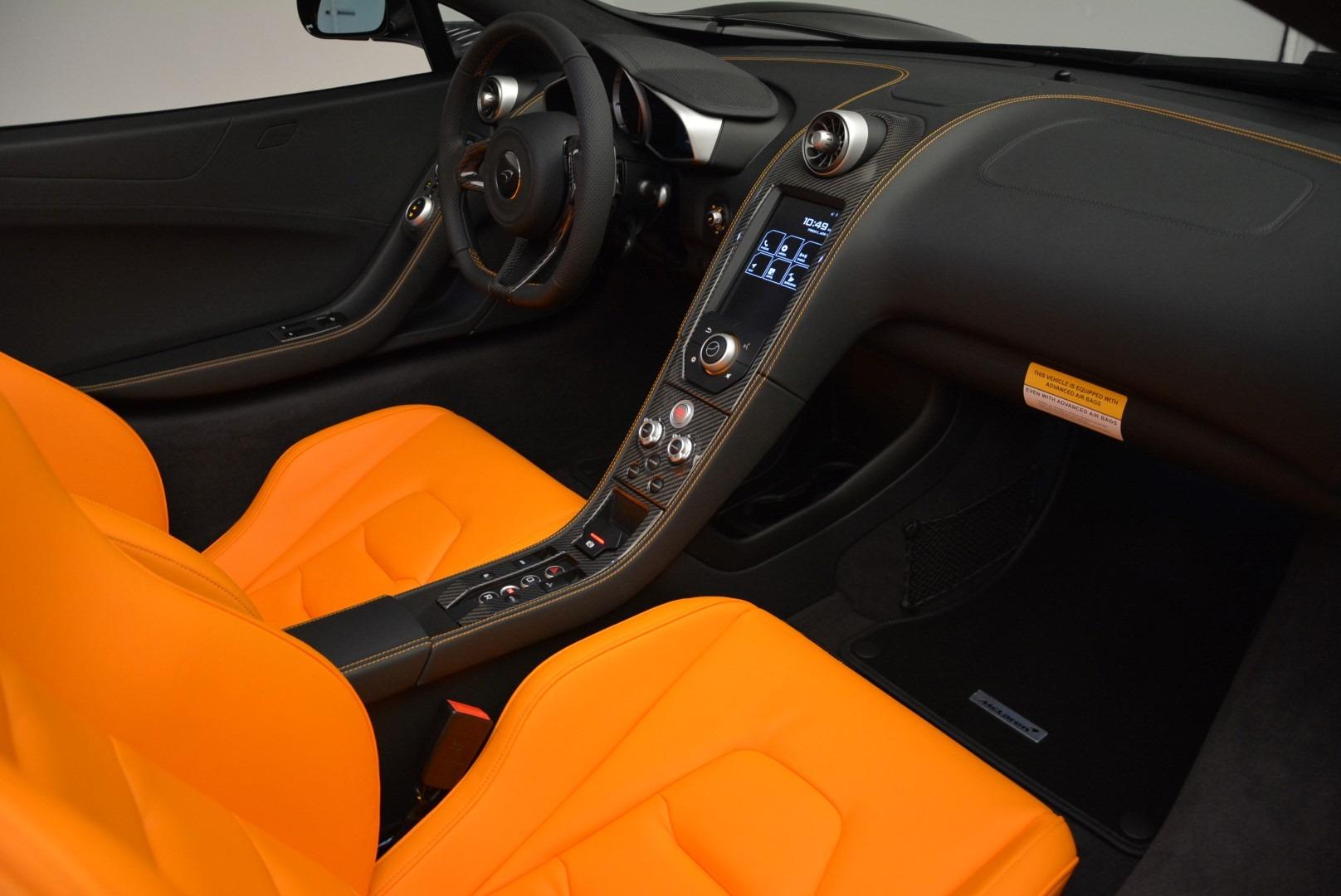 Used 2015 McLaren 650S Spider For Sale In Westport, CT 2089_p26