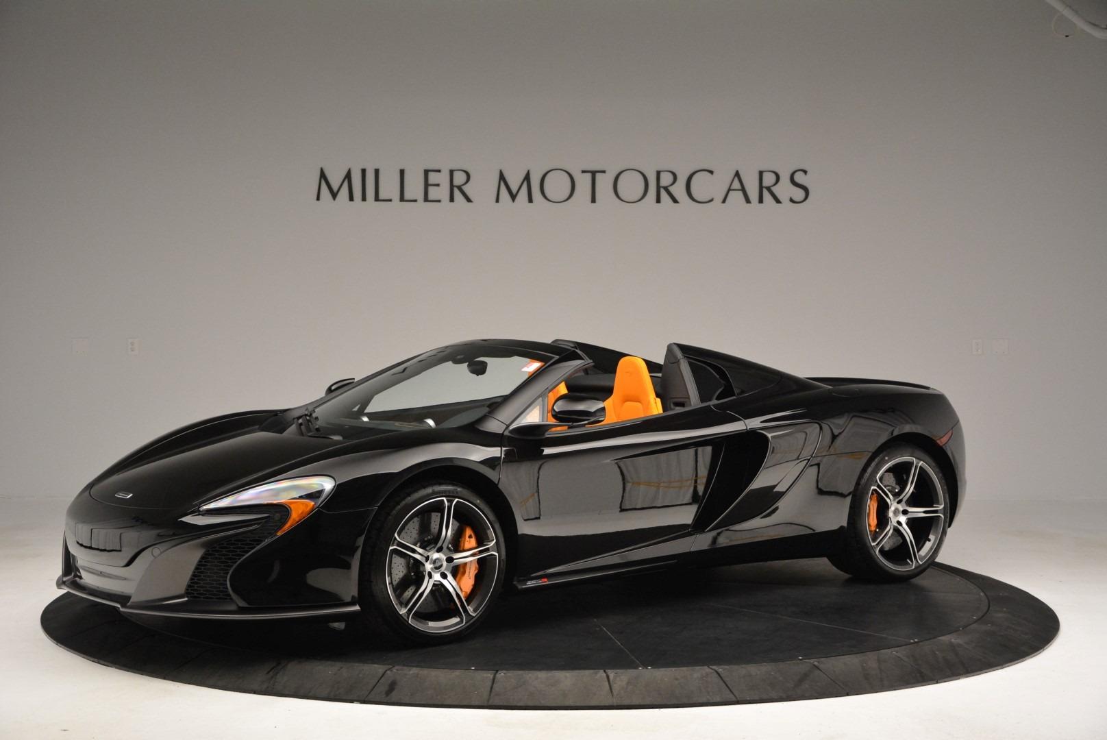 Used 2015 McLaren 650S Spider For Sale In Westport, CT 2089_p2