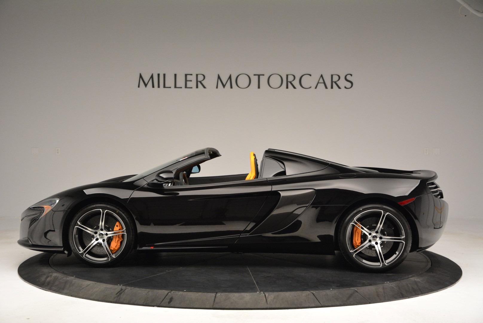 Used 2015 McLaren 650S Spider For Sale In Westport, CT 2089_p3