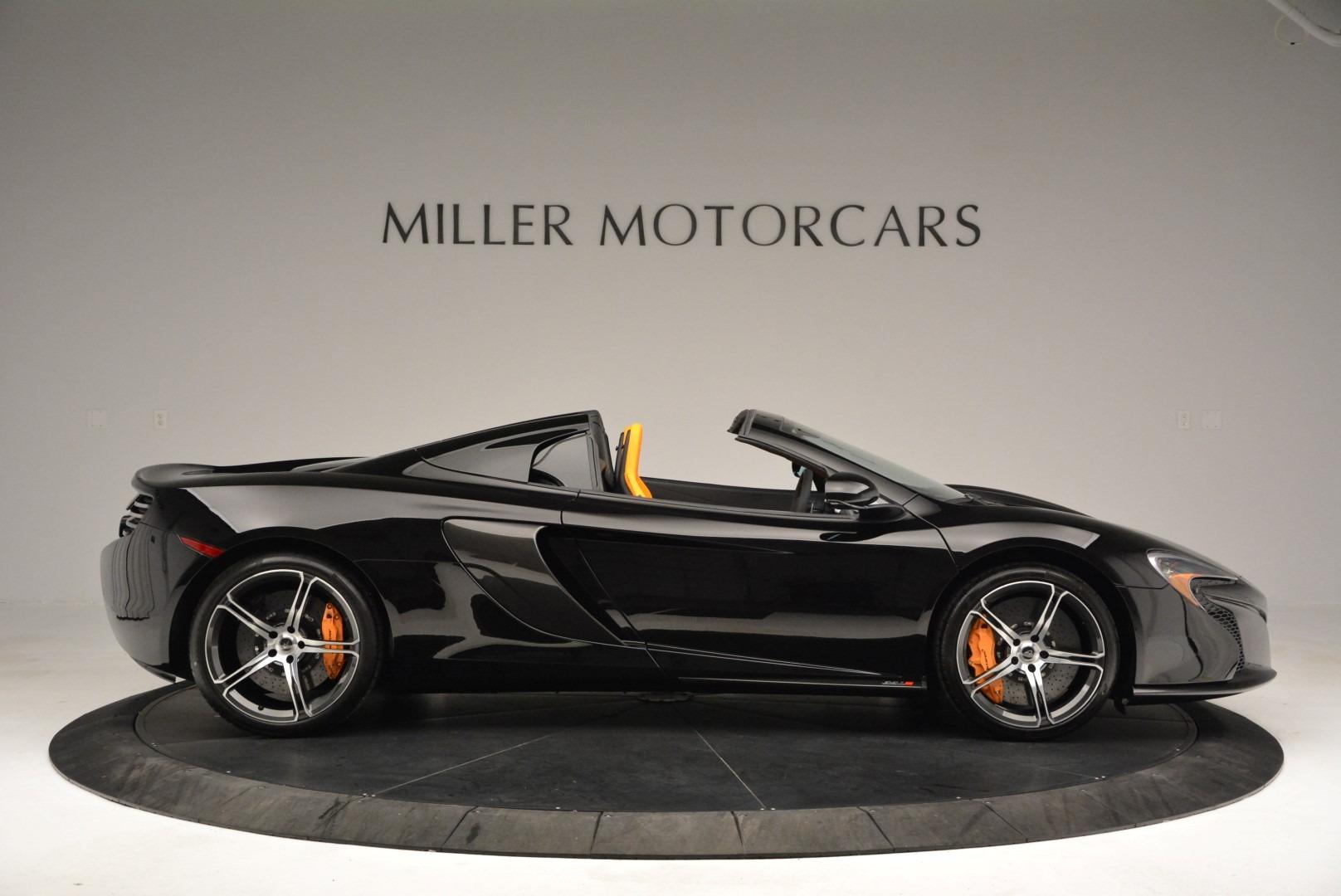 Used 2015 McLaren 650S Spider For Sale In Westport, CT 2089_p9