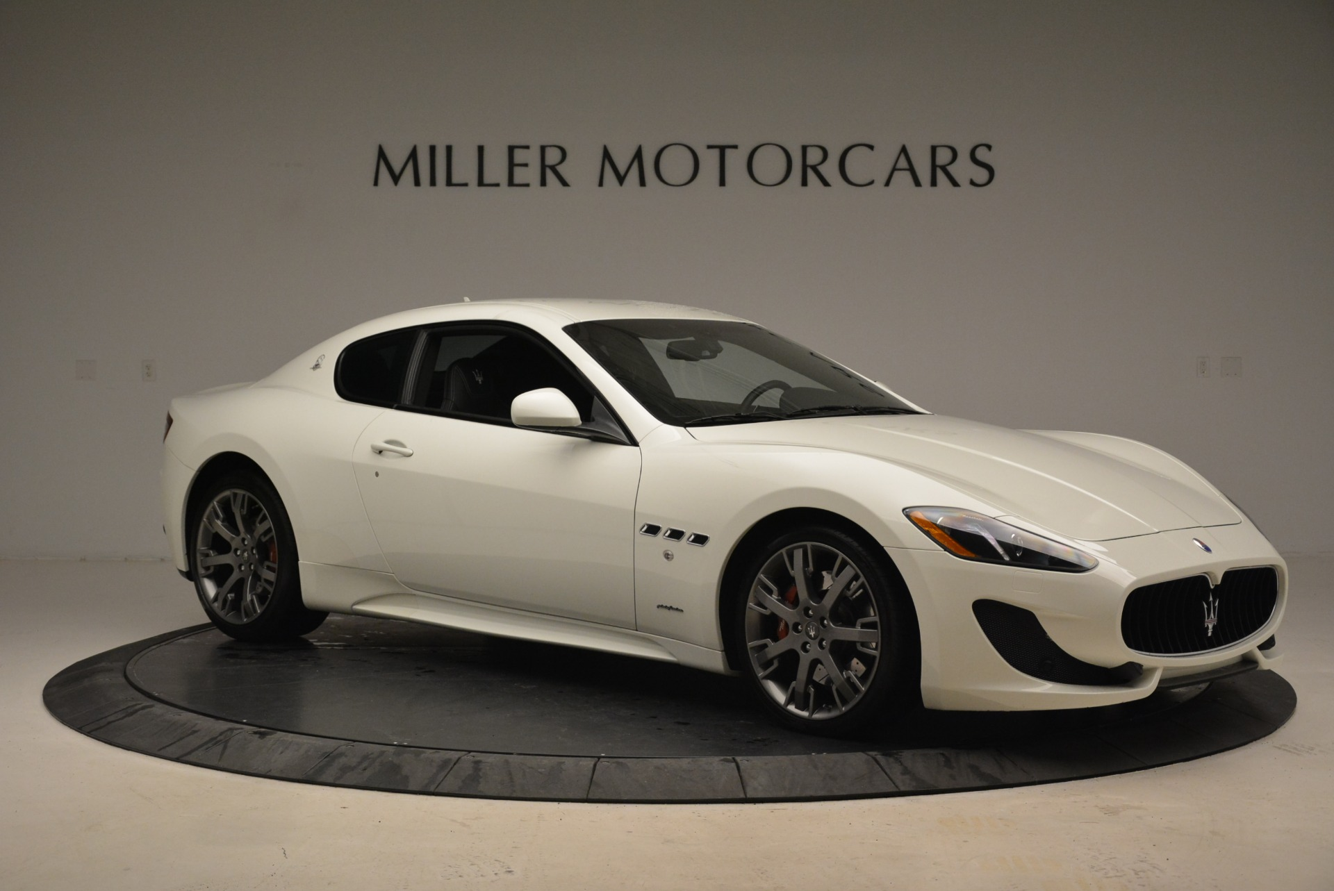 Used 2016 Maserati GranTurismo Sport For Sale In Westport, CT 2095_p13