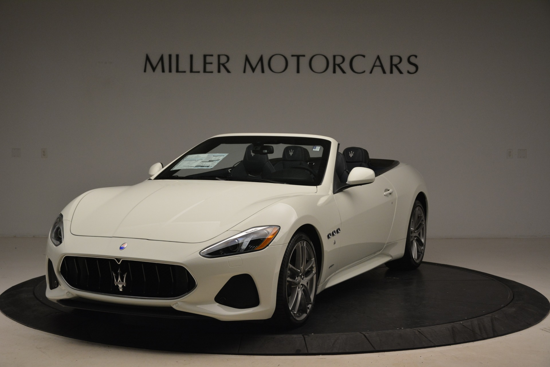 New 2018 Maserati GranTurismo Sport Convertible For Sale In Westport, CT 2106_main