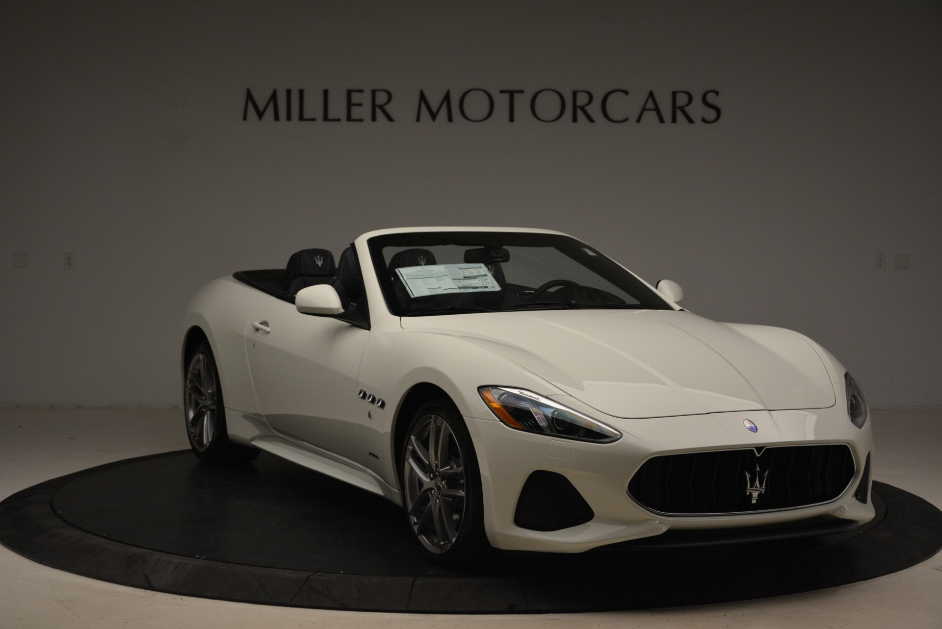New 2018 Maserati GranTurismo Sport Convertible For Sale In Westport, CT 2106_p12