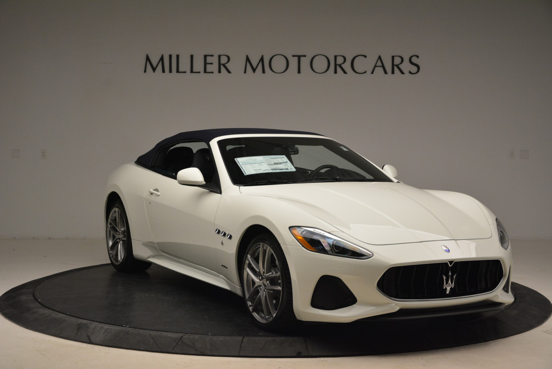New 2018 Maserati GranTurismo Sport Convertible For Sale In Westport, CT 2106_p24
