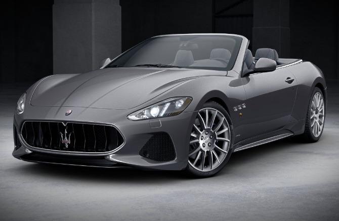 New 2018 Maserati GranTurismo Sport Convertible For Sale In Westport, CT 2109_main