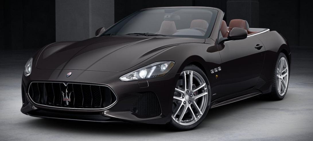 New 2018 Maserati GranTurismo Sport Convertible For Sale In Westport, CT 2115_main