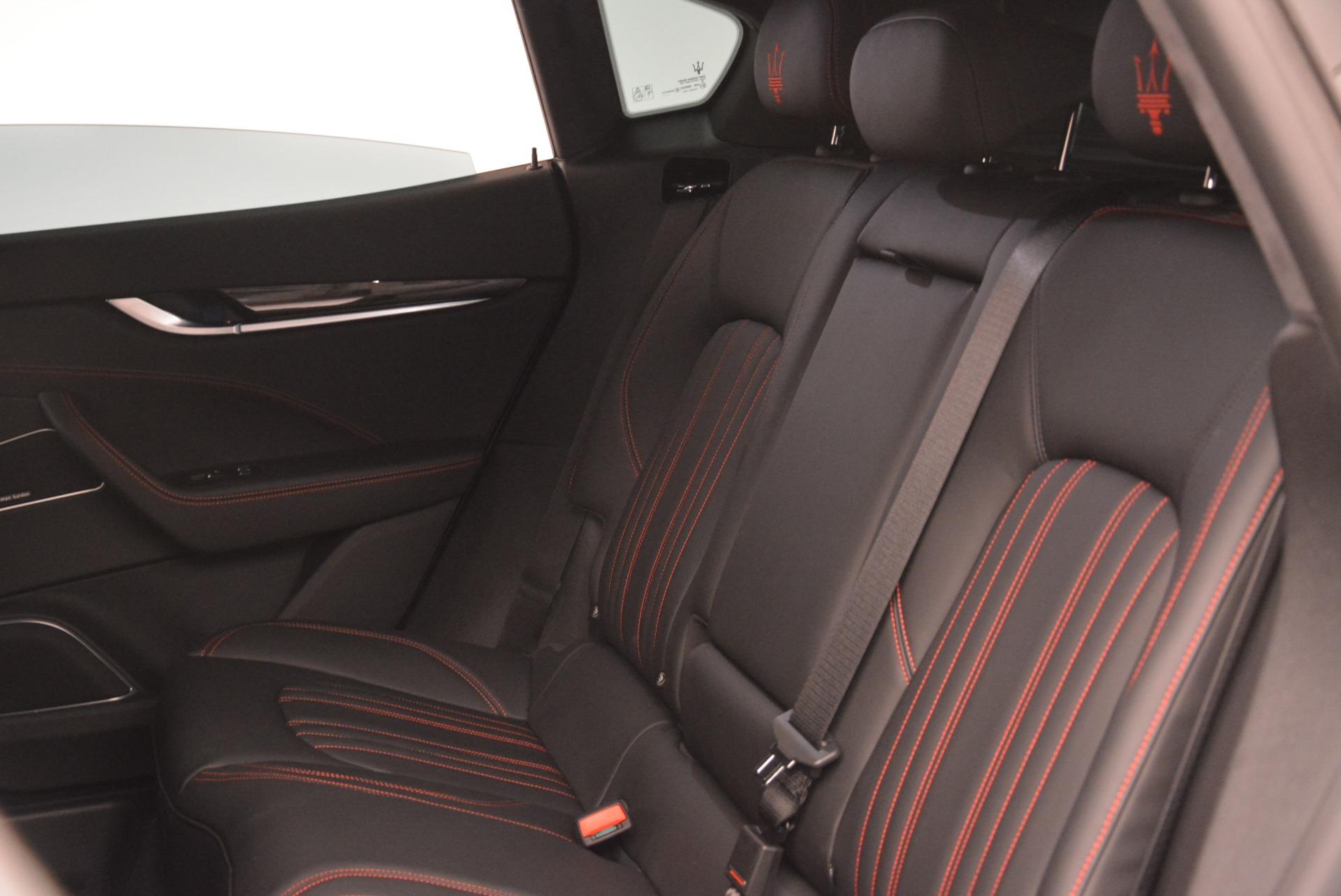 New 2018 Maserati Levante Q4 For Sale In Westport, CT 2122_p21