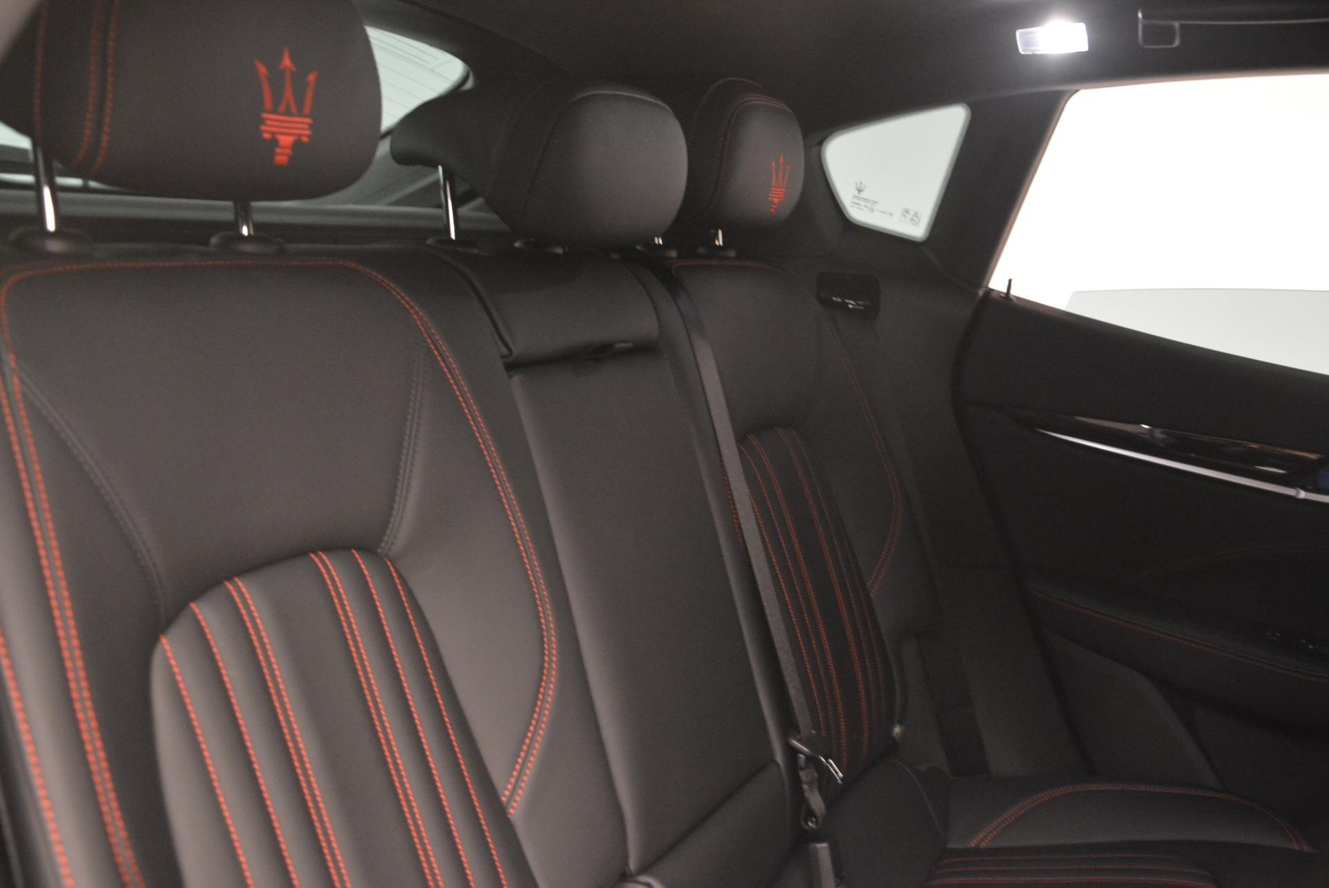 New 2018 Maserati Levante Q4 For Sale In Westport, CT 2122_p24