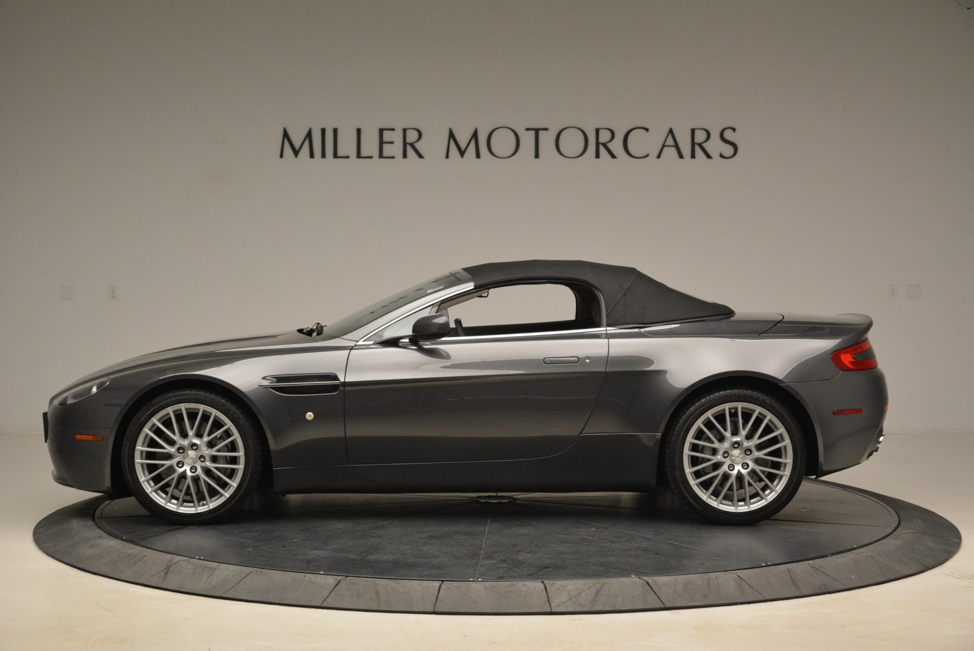 Used 2009 Aston Martin V8 Vantage Roadster For Sale In Westport, CT 2123_p15