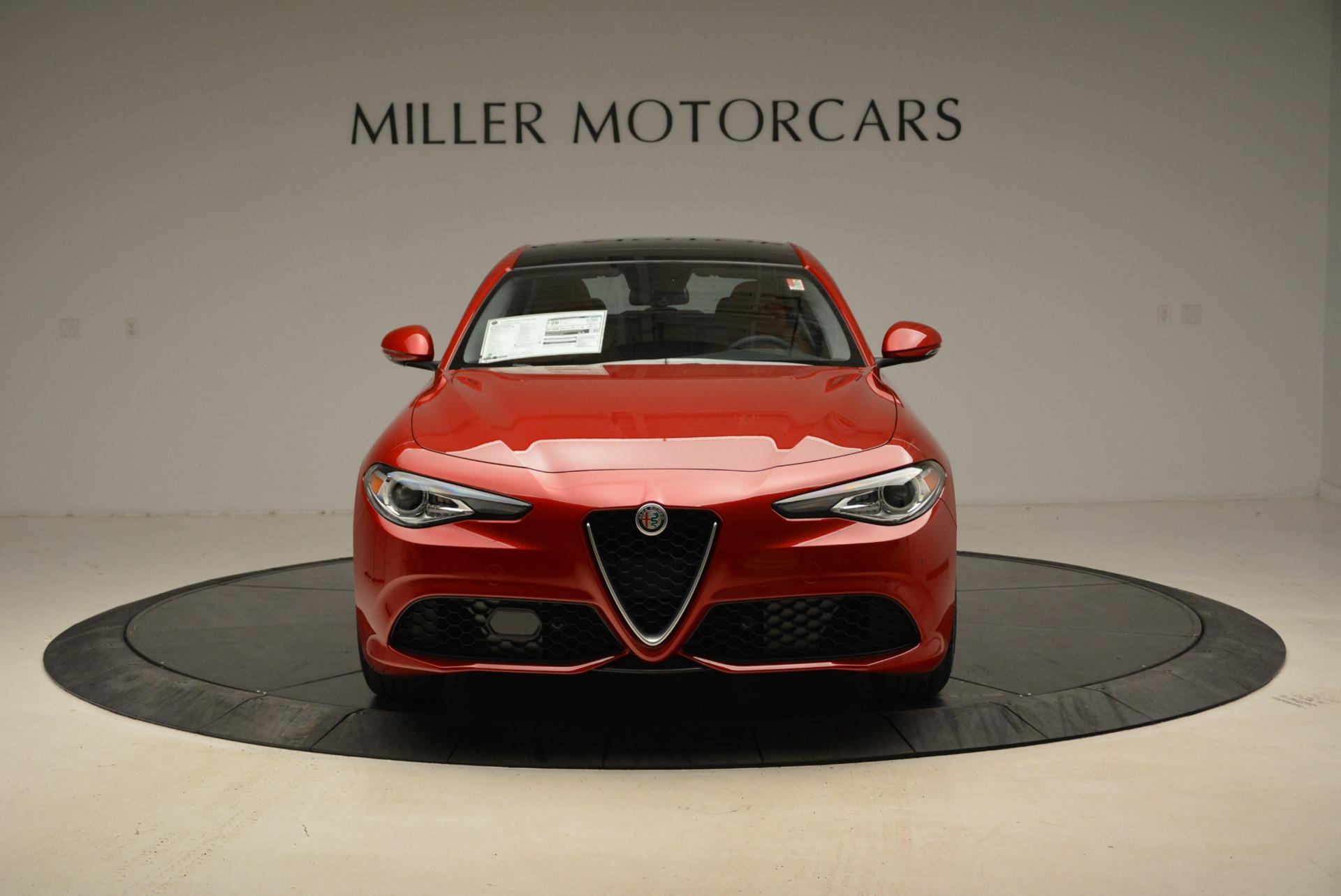New 2018 Alfa Romeo Giulia Ti Sport Q4 For Sale In Westport, CT 2127_p12