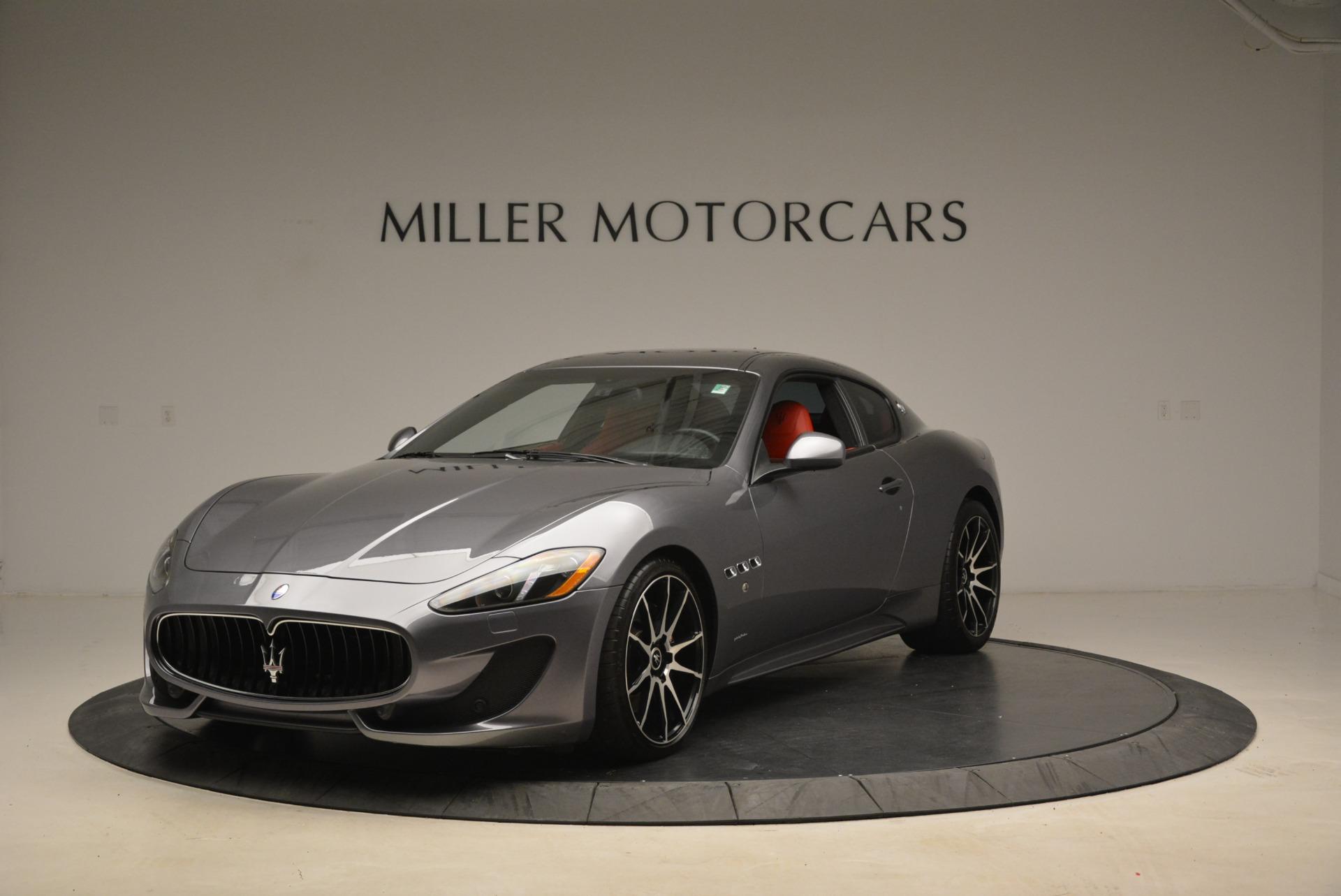 Used 2014 Maserati GranTurismo Sport For Sale In Westport, CT 2131_main