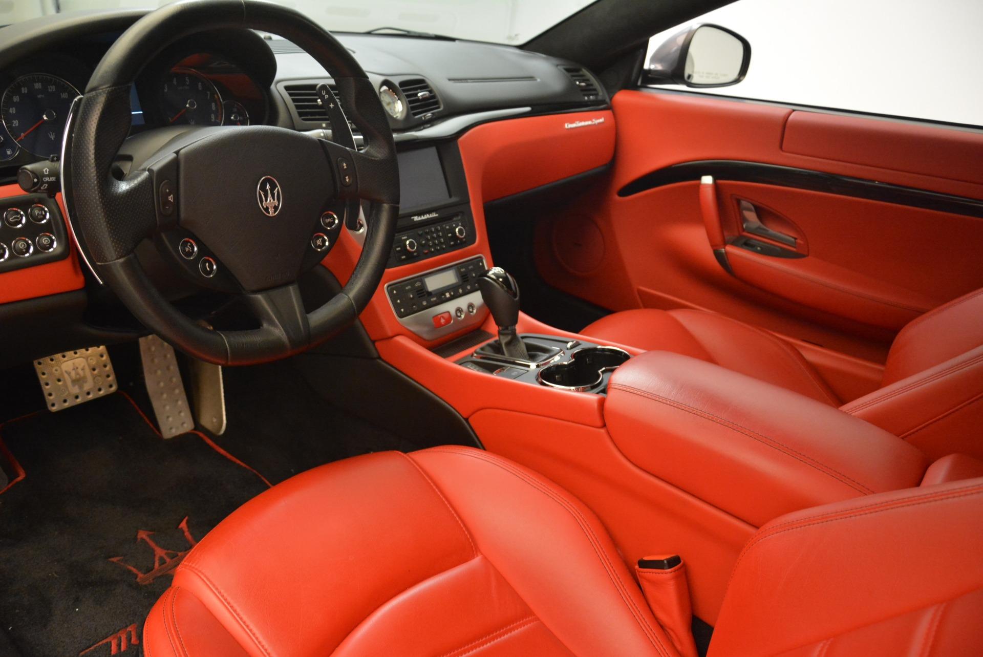 Used 2014 Maserati GranTurismo Sport For Sale In Westport, CT 2131_p11