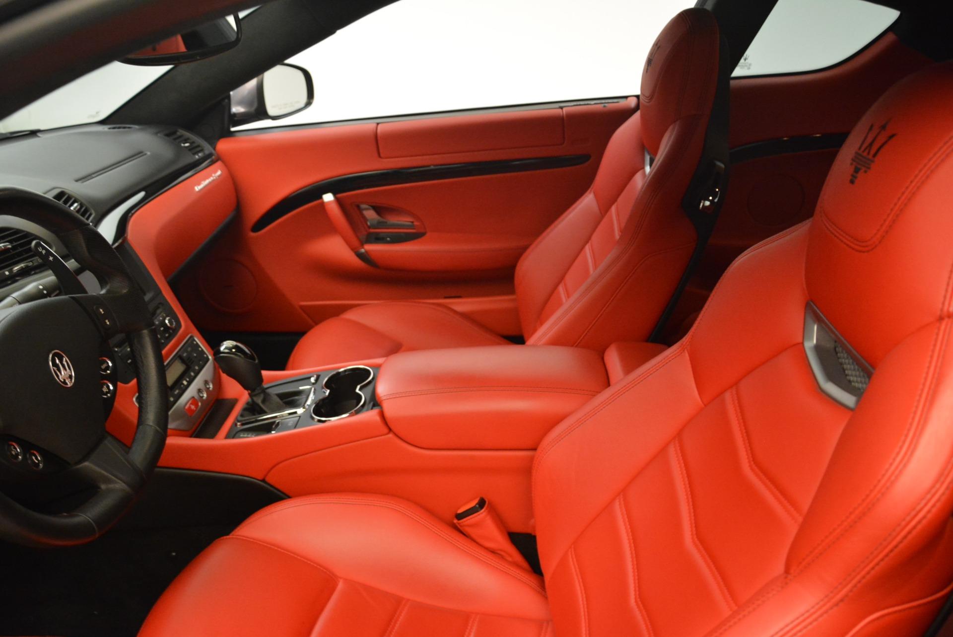 Used 2014 Maserati GranTurismo Sport For Sale In Westport, CT 2131_p12