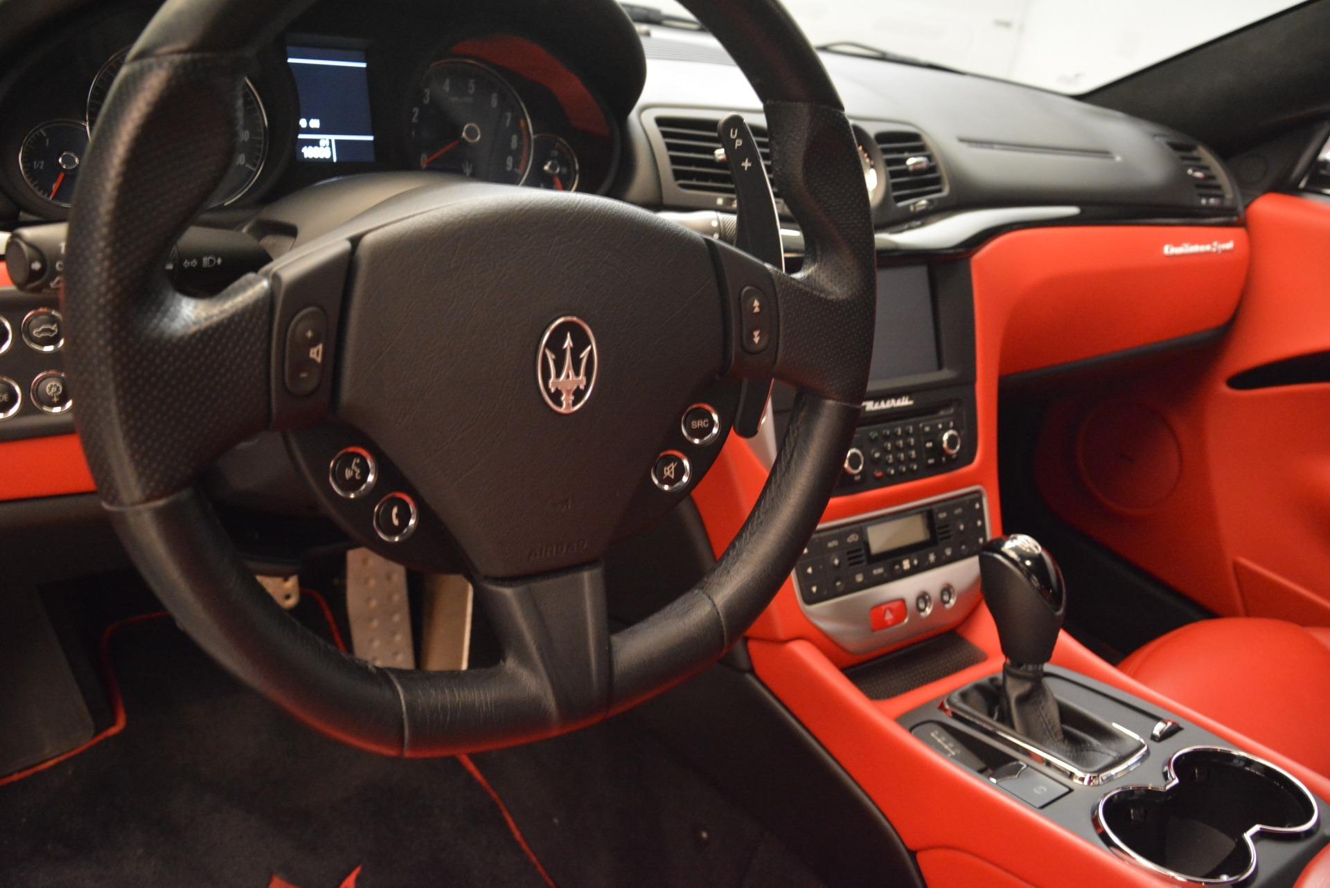 Used 2014 Maserati GranTurismo Sport For Sale In Westport, CT 2131_p15