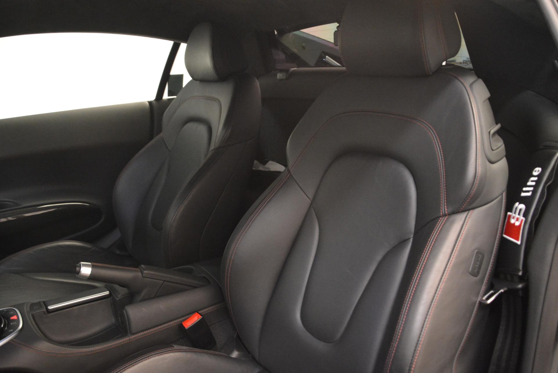 Used 2014 Audi R8 5.2 quattro For Sale In Westport, CT 2147_p16