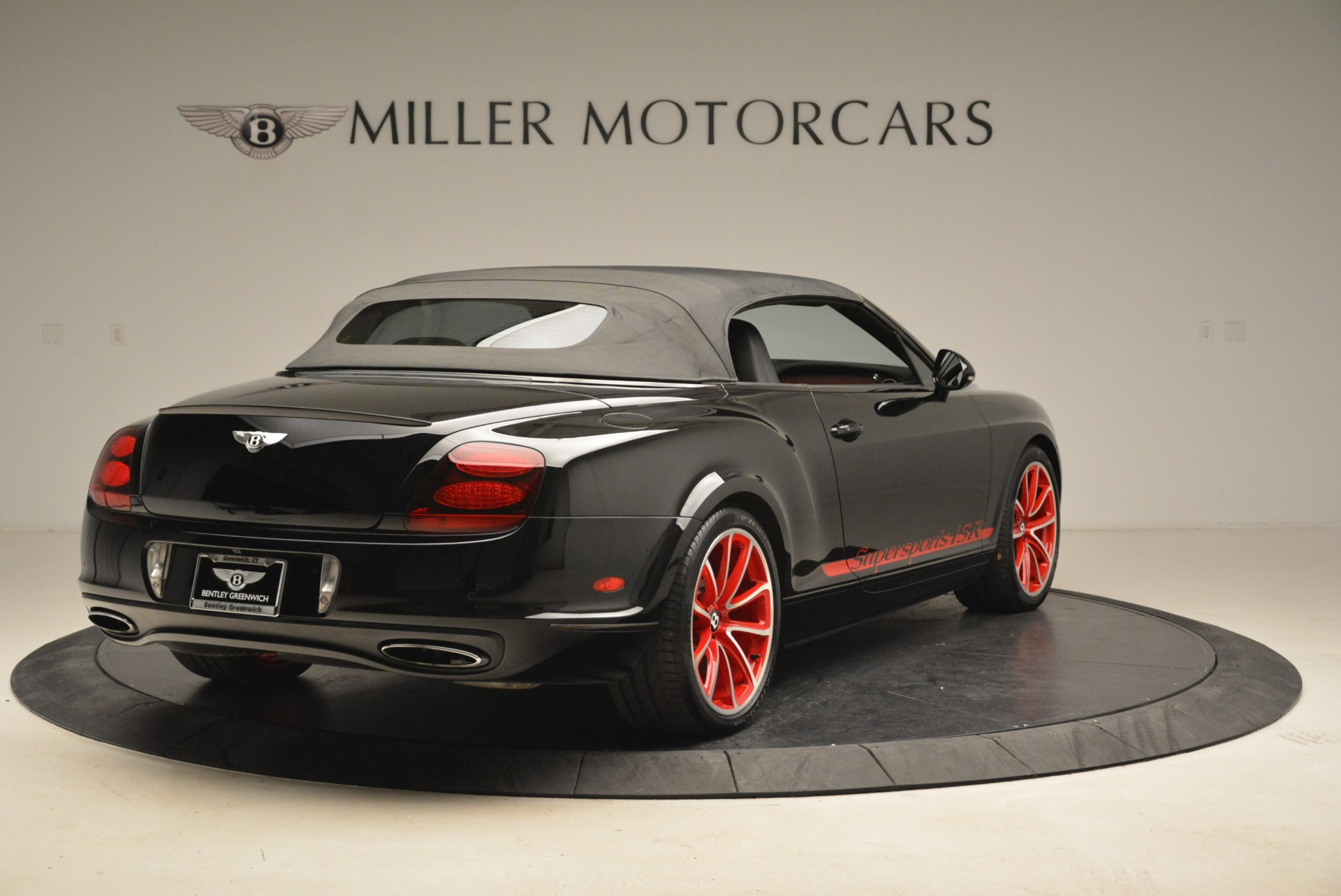 Used 2013 Bentley Continental GT Supersports Convertible ISR For Sale In Westport, CT 2151_p20