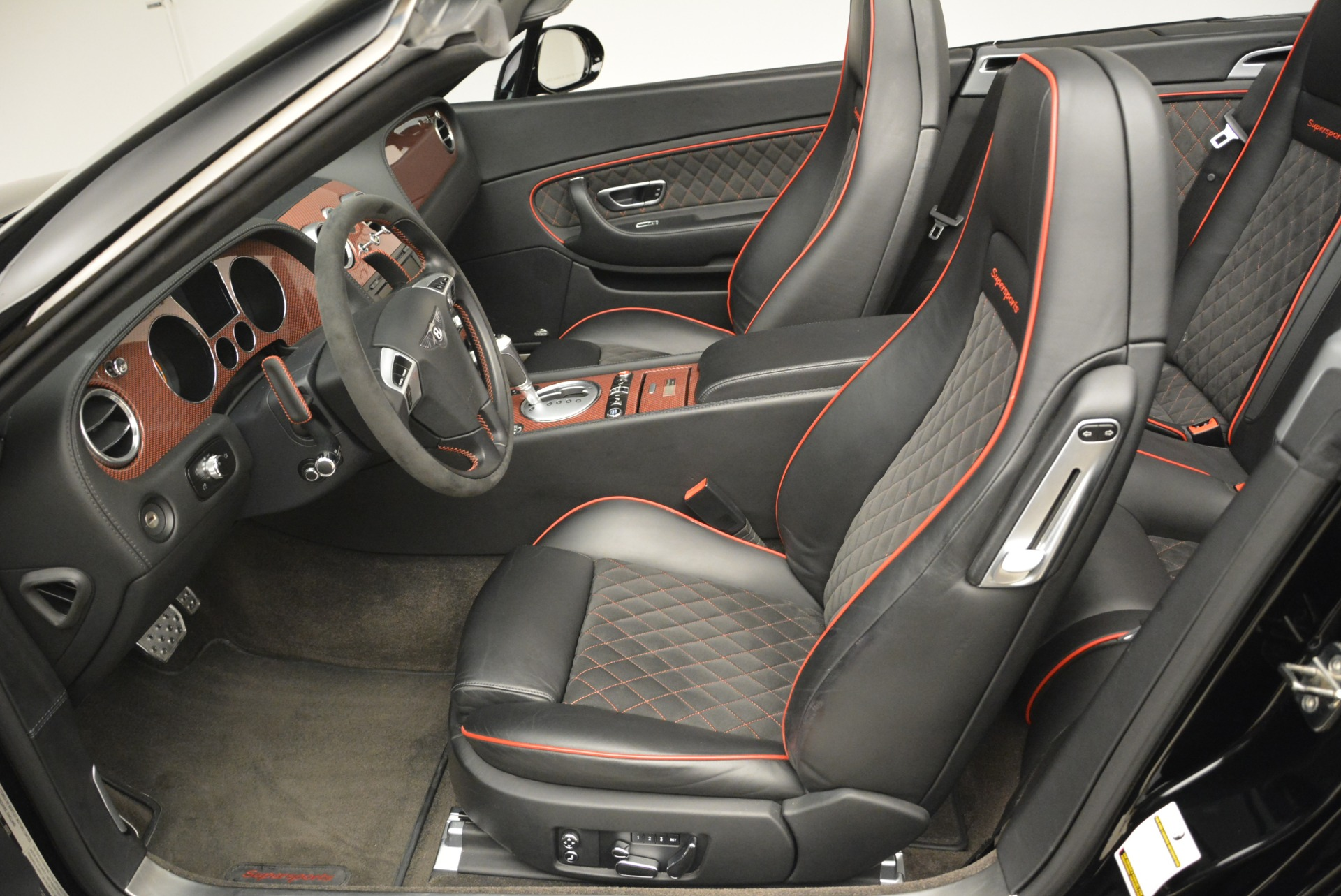 Used 2013 Bentley Continental GT Supersports Convertible ISR For Sale In Westport, CT 2151_p32