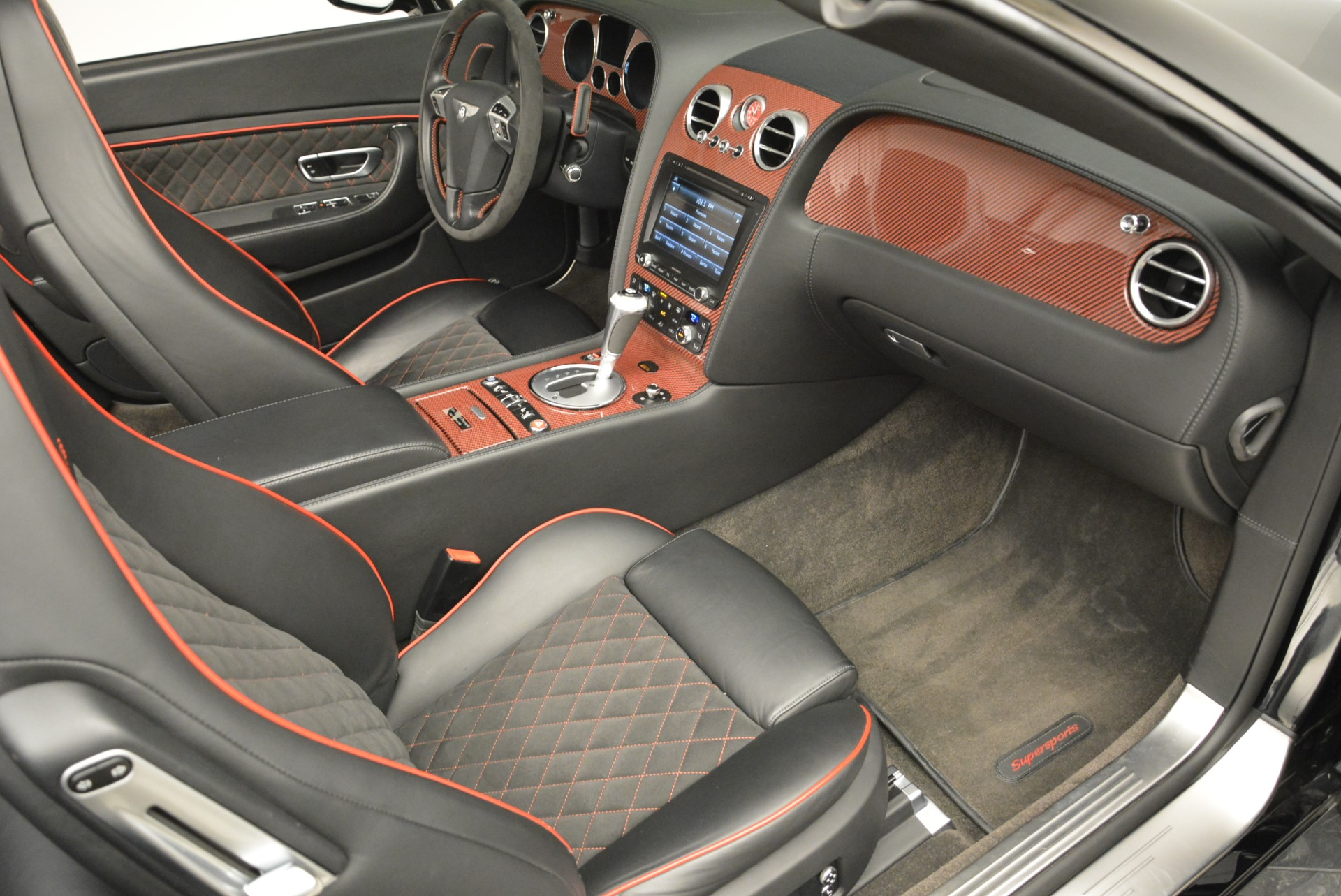 Used 2013 Bentley Continental GT Supersports Convertible ISR For Sale In Westport, CT 2151_p46