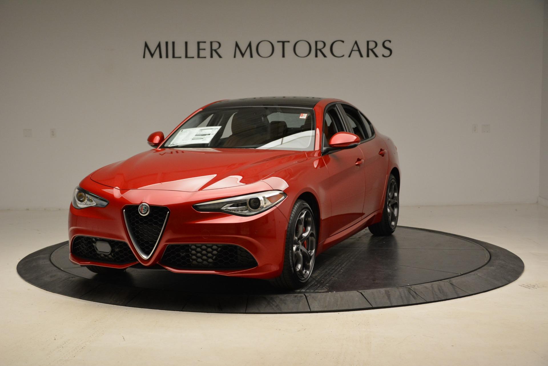 New 2018 Alfa Romeo Giulia Ti Sport Q4 For Sale In Westport, CT 2173_main