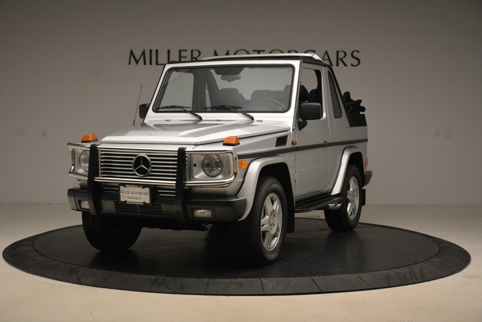 Used 2000 Mercedes-Benz G500 RENNTech  For Sale In Westport, CT 2184_main