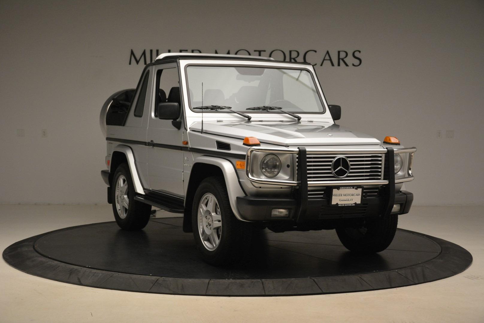 Used 2000 Mercedes-Benz G500 RENNTech  For Sale In Westport, CT 2184_p11