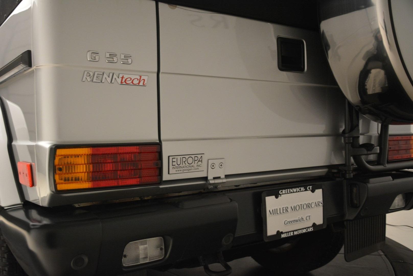 Used 2000 Mercedes-Benz G500 RENNTech  For Sale In Westport, CT 2184_p23