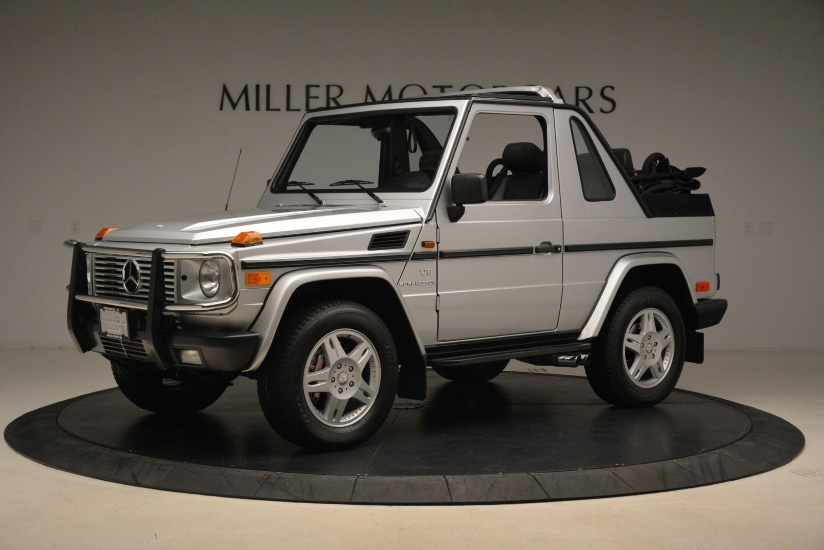 Used 2000 Mercedes-Benz G500 RENNTech  For Sale In Westport, CT 2184_p2