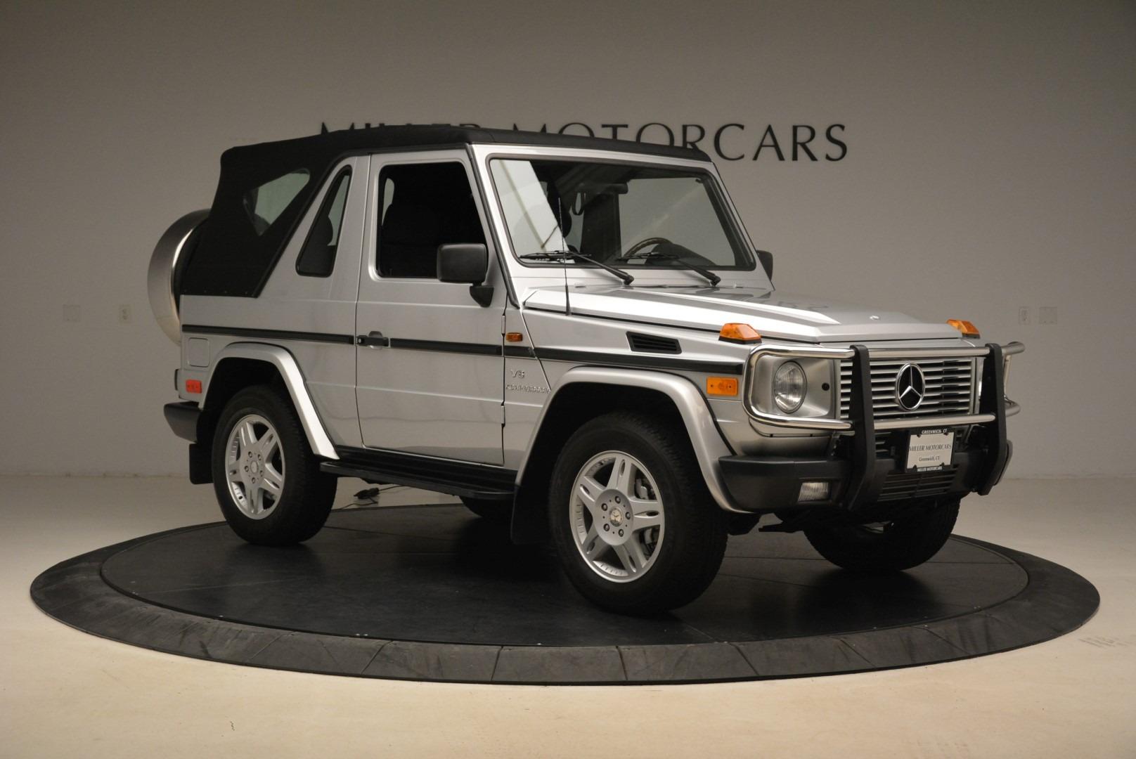 Used 2000 Mercedes-Benz G500 RENNTech  For Sale In Westport, CT 2184_p32