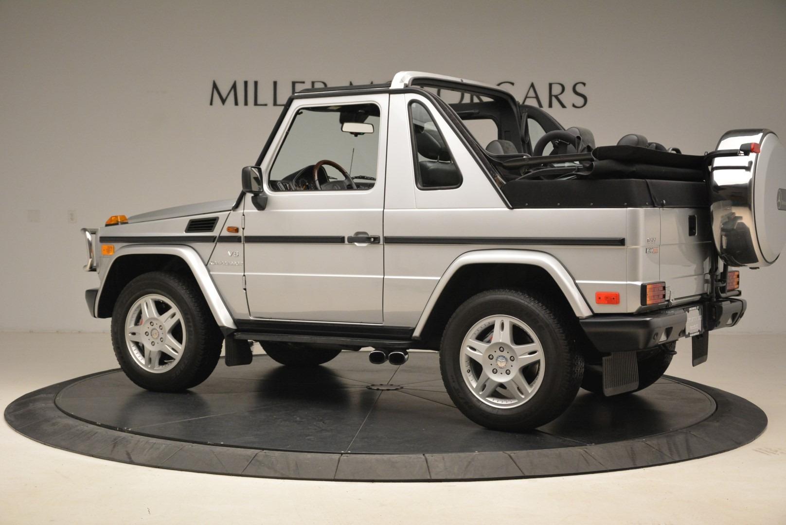Used 2000 Mercedes-Benz G500 RENNTech  For Sale In Westport, CT 2184_p4