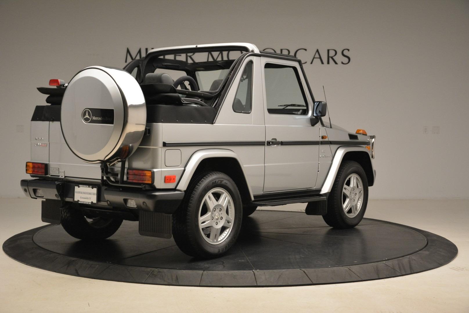 Used 2000 Mercedes-Benz G500 RENNTech  For Sale In Westport, CT 2184_p7